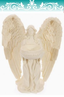 Kneeling Angel with candle